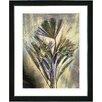 "Studio Works Modern ""Harvest Floral - Gold"" by Zhee Singer Framed Fine Art Giclee Painting Print"