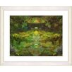"""<strong>""""Voice - Green"""" by Zhee Singer Framed Fine Art Giclee Print</strong> by Studio Works Modern"""