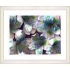 "<strong>Studio Works Modern</strong> ""Spring Flowers - Blue"" by Zhee Singer Framed Fine Art Giclee Print"
