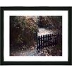 "Studio Works Modern ""Cape Cod Garden - Fall"" by Mia Singer Framed Fine Art Giclee Photographic Painting Print"