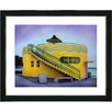 "Studio Works Modern ""Yellow Beach House"" by Mia Singer Framed Fine Art Giclee Photographic Painting Print"