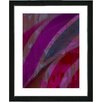 "Studio Works Modern ""Cinnabar - Purple"" by Zhee Singer Framed Fine Art Giclee Painting Print"