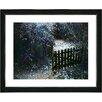 "Studio Works Modern ""Cape Cod Garden - Dusk"" by Mia Singer Framed Fine Art Giclee Photographic Print"