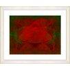 "Studio Works Modern ""Double Rose"" by Zhee Singer Framed Fine Art Giclee Print"
