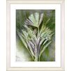 "Studio Works Modern ""Harvest Floral - Green"" by Zhee Singer Framed Fine Art Giclee Print"