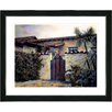 "Studio Works Modern ""Hacienda"" by Mia Singer Framed Fine Art Giclee Photographic Print"