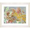 "Studio Works Modern ""Rococo Peacock - Orange"" by Zhee Singer Framed Fine Art Giclee Print"