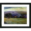 "Studio Works Modern ""Meadow After the Rain"" by Zhee Singer Framed Fine Art Giclee Painting Print"