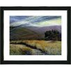 "Studio Works Modern ""Sonoma After the Rain"" by Zhee Singer Framed Fine Art Giclee Painting Print"