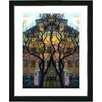 """Studio Works Modern """"Townhouse"""" by Mia Singer Framed Fine Art Giclee Photographic Painting Print"""