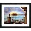 "Studio Works Modern ""Malibu Pier"" by Mia Singer Framed Fine Art Giclee Photographic Print"