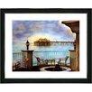 "Studio Works Modern ""Malibu Pier"" by Mia Singer Framed Fine Art Giclee Photographic Print"