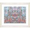 "Studio Works Modern ""Summer Land - Orange"" by Zhee Singer Framed Fine Art Giclee Print"