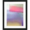 "Studio Works Modern ""Umfolozi - Red"" by Zhee Singer Framed Fine Art Giclee Painting Print"