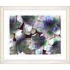 """<strong>""""Spring Flowers - Purple"""" by Zhee Singer Framed Fine Art Giclee Print</strong> by Studio Works Modern"""