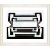 "Studio Works Modern ""Hexnocular I"" by Zhee Singer Framed Fine Art Giclee Painting Print"