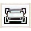 "Studio Works Modern ""Hexnocular I"" by Zhee Singer Framed Fine Art Giclee Print"