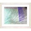 "Studio Works Modern ""Ocean Tango"" by Zhee Singer Framed Fine Art Giclee Painting Print"