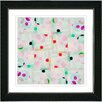 "Studio Works Modern ""Snowflake Symmetry"" by Zhee Singer Framed Graphic Art"