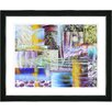 "Studio Works Modern ""Veggie Mix"" by Zhee Singer Framed Fine Art Giclee Painting Print"