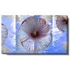 """Studio Works Modern """"Moon Flower"""" Gallery Wrapped by Zhee Singer Painting Print on Canvas"""