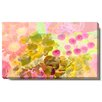 "Studio Works Modern ""Orange Flowers and Berries"" Gallery Wrapped by Zhee Singer Painting Print on Canvas"