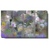 "Studio Works Modern ""Spring Flowers"" Gallery Wrapped by Zhee Singer Painting Print on Canvas"
