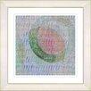 "Studio Works Modern ""Moon Shadow"" by Zhee Singer Framed Fine Art Giclee Painting Print"