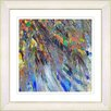 "Studio Works Modern ""Tropical Palm Euphoria"" by Zhee Singer Framed Fine Art Giclee Painting Print"