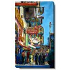 "Studio Works Modern ""Utah City Street"" Gallery Wrapped by Zhee Singer Painting Print on Canvas"