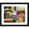 "Studio Works Modern ""Veggie Mix - II"" by Zhee Singer Framed Fine Art Giclee Painting Print"