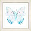 "<strong>""White Butterfly"" by Zhee Singer Framed Graphic Art</strong> by Studio Works Modern"