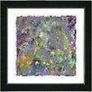 "Studio Works Modern ""Spill"" by Zhee Singer Framed Painting Print"