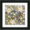 "Studio Works Modern ""Cream Popcorn Floral"" by Zhee Singer Framed Fine Art Giclee Painting Print"