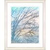 "Studio Works Modern ""Winter Sun"" by Zhee Singer Framed Graphic Art"