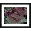 "Studio Works Modern ""Dusk of Time Floral"" by Zhee Singer Framed Fine Art Giclee Painting Print"