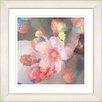 """Studio Works Modern """"Pastel Pearl Flower"""" by Zhee Singer Framed Painting Print"""