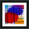 "Studio Works Modern ""Closed Circuit"" by Zhee Singer Framed Fine Art Giclee Painting Print"