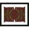 "Studio Works Modern ""Abstract Mosaic Leaf Series - Interplay"" by Zhee Singer Framed Graphic Art"