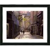 "Studio Works Modern ""Old Town"" by Mia Singer Framed Photographic Print Plaque"