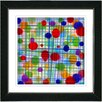 "Studio Works Modern ""Quirk Series"" by Zhee Singer Framed Fine Art Giclee Painting Print"