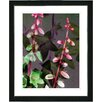 """Studio Works Modern """"Red Bells from Tucapel"""" by Zhee Singer Framed Fine Art Giclee Painting Print"""