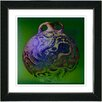 "Studio Works Modern ""Octopus Urn"" by Zhee Singer Framed Fine Art Giclee Painting Print"