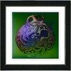 "Studio Works Modern ""Octopus Urn"" by Zhee Singer Framed Graphic Art"