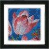 "Studio Works Modern ""Tulip"" by Zhee Singer Framed Painting Print"