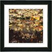 "Studio Works Modern ""Morning in the City"" by Zhee Singer Framed Fine Art Giclee Painting Print"