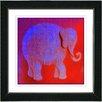 "Studio Works Modern ""Babar"" by Zhee Singer Framed Fine Art Giclee Painting Print"