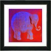 """<strong>""""Babar"""" by Zhee Singer Framed Graphic Art</strong> by Studio Works Modern"""