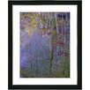 "Studio Works Modern ""Summer Forest"" by Zhee Singer Framed Fine Art Giclee Painting Print"