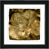 "Studio Works Modern ""Sepia Carnation"" by Zhee Singer Framed Fine Art Giclee Painting Print"